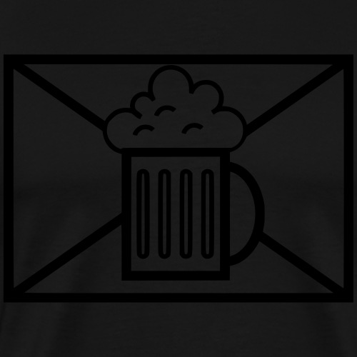 Bierjäger Bundeswehr taktisches Zeichen - Männer Premium T-Shirt