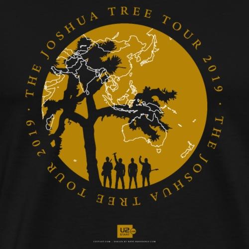 JT2019: Tour with city list - Men's Premium T-Shirt