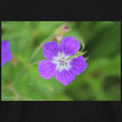 Violet flower - Maglietta Premium da uomo