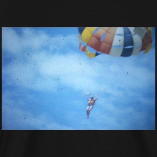 Fallschirmspringer vintage Fotografie - Männer Premium T-Shirt