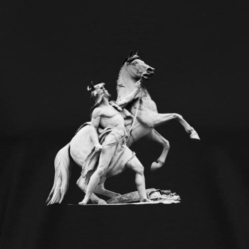 der Ritter - Männer Premium T-Shirt