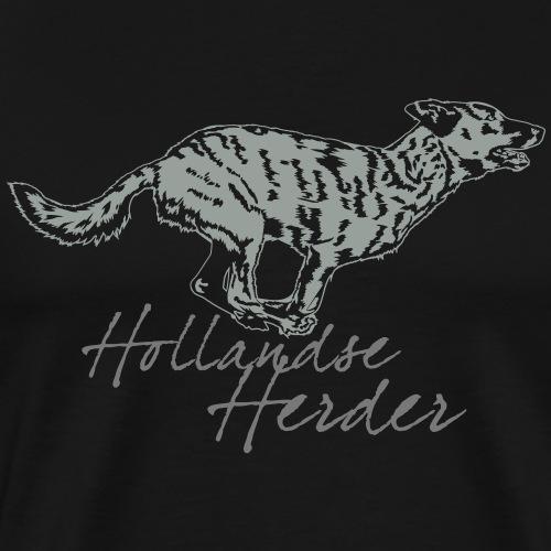 Hollandse Herder - Männer Premium T-Shirt