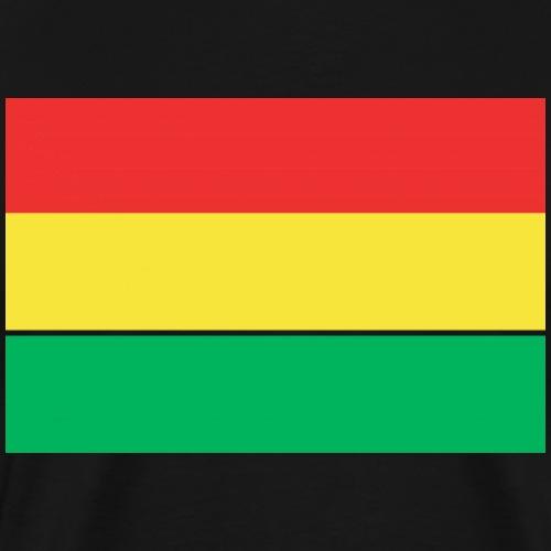 ROOD GEEL GROEN CARNAVAL - Mannen Premium T-shirt