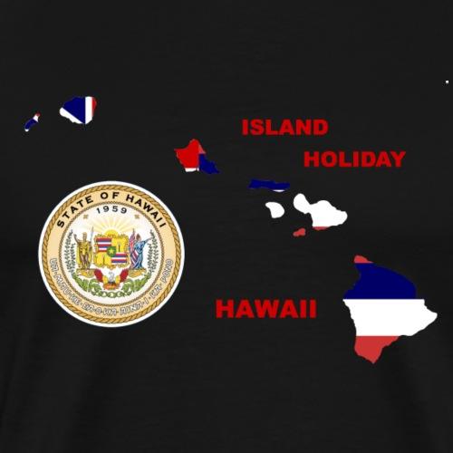 Hawaii Holiday Island - Männer Premium T-Shirt
