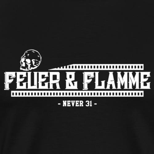Feuer & Flamme - Männer Premium T-Shirt