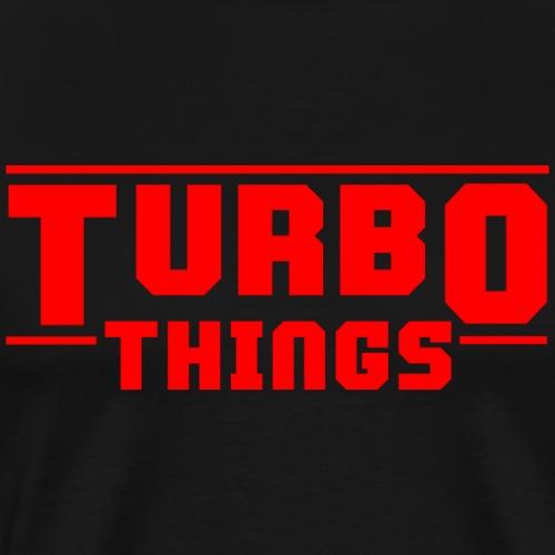 Turbo Things Tuner Mechaniker Auto Shirt Geschenk - Männer Premium T-Shirt