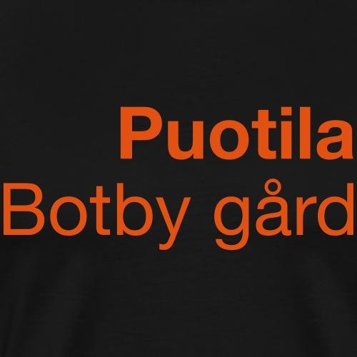 PUOTILA - Miesten premium t-paita