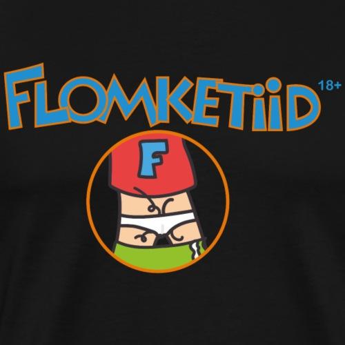 Flomketyd - Mannen Premium T-shirt