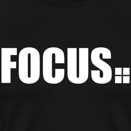 focus - Männer Premium T-Shirt