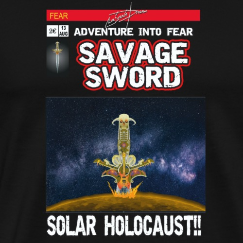 180813 Savage Sword Comic Lajarin Dream - Camiseta premium hombre
