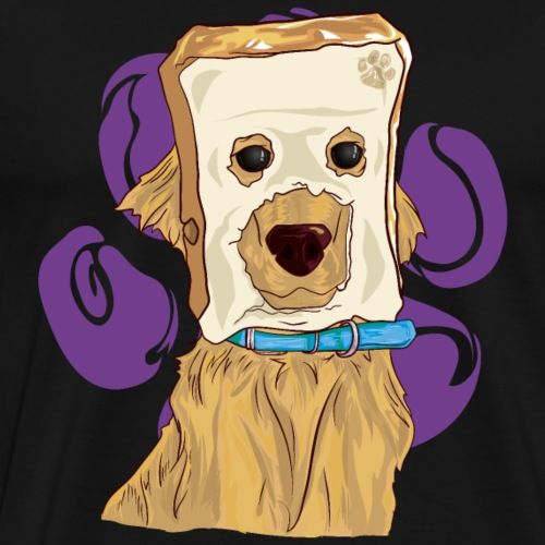 MEME cabeza de pan - Camiseta premium hombre