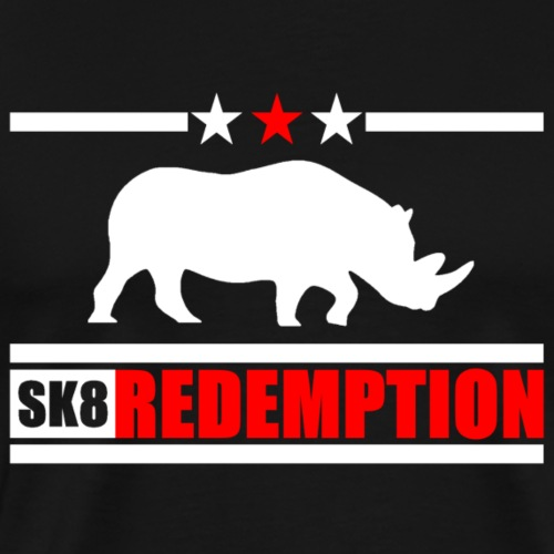 sk8 redemption White 6 - T-shirt Premium Homme
