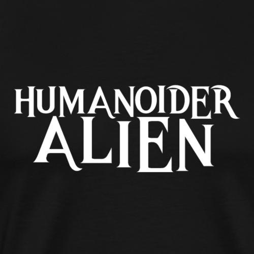 Humanoider Alien - Männer Premium T-Shirt