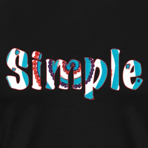 Simple - Men's Premium T-Shirt