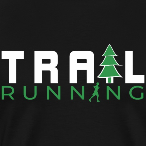 Trailrunning Trailrunner Shirt Traillauf Geschenk - Männer Premium T-Shirt