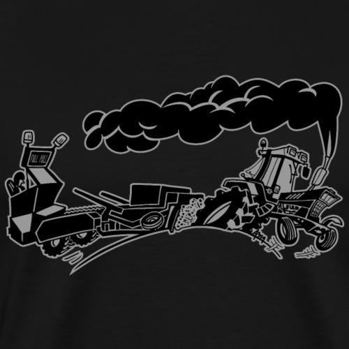 Pulling IH duotone - Mannen Premium T-shirt