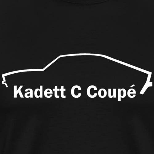 Kadett C QP Coupe - Männer Premium T-Shirt