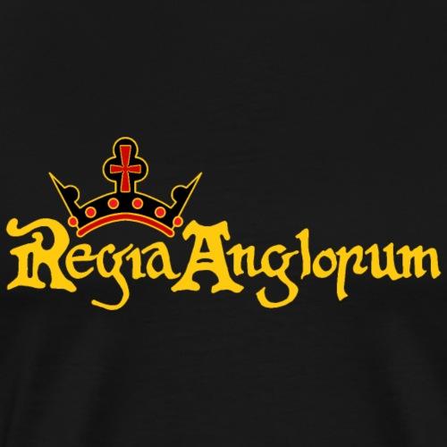 Regia Banner Yellow - Men's Premium T-Shirt