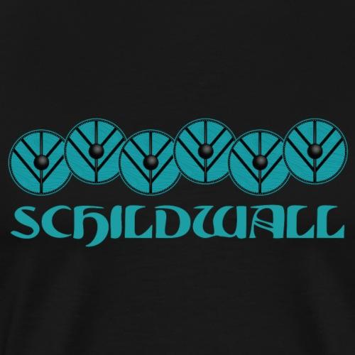 Schildwall1 - Männer Premium T-Shirt