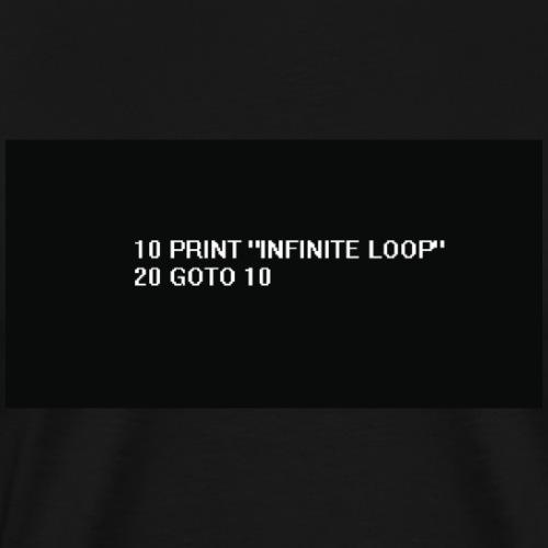 20 goto 10 - Men's Premium T-Shirt
