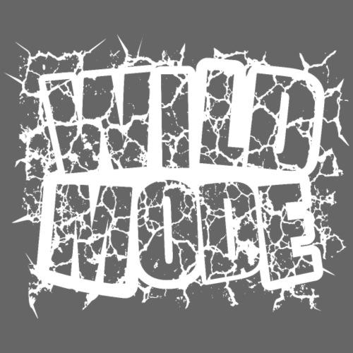 WILD MODE BLANCO - Camiseta premium hombre
