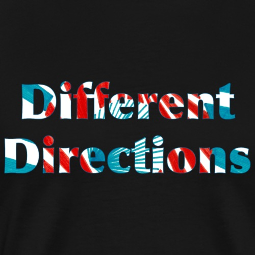 Different Directions - Men's Premium T-Shirt