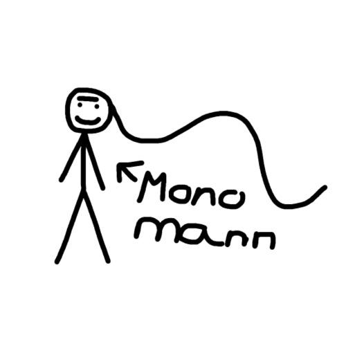 Der Monomann - Männer Premium T-Shirt