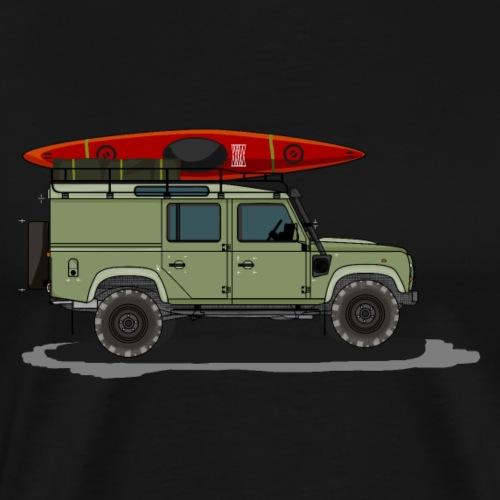 Geländewagen Ikone im coolen Design - Männer Premium T-Shirt