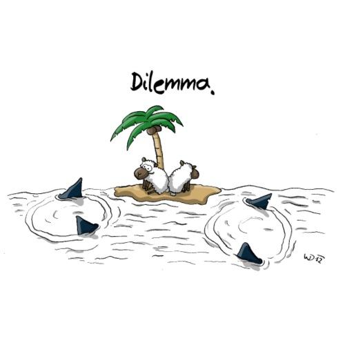 Dilemma - Männer Premium T-Shirt