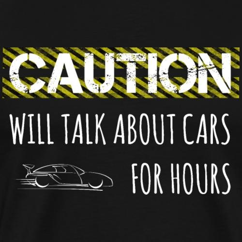 Mechaniker lustiger Spruch Auto Shirt Geschenk - Männer Premium T-Shirt