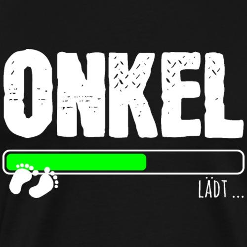 Onkel Baby Ladebalken loading lädt Geschenk - Männer Premium T-Shirt