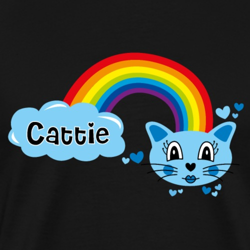 Motif Cattie - T-shirt Premium Homme