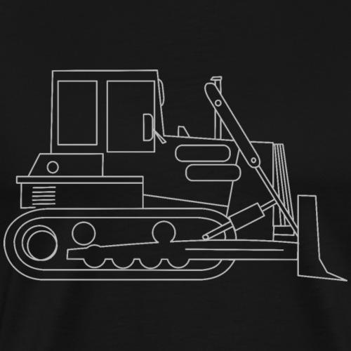 bulldozer - T-shirt Premium Homme