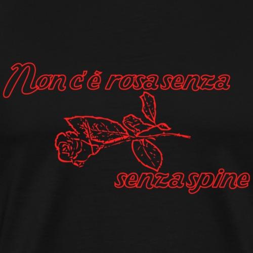 rose - Herre premium T-shirt