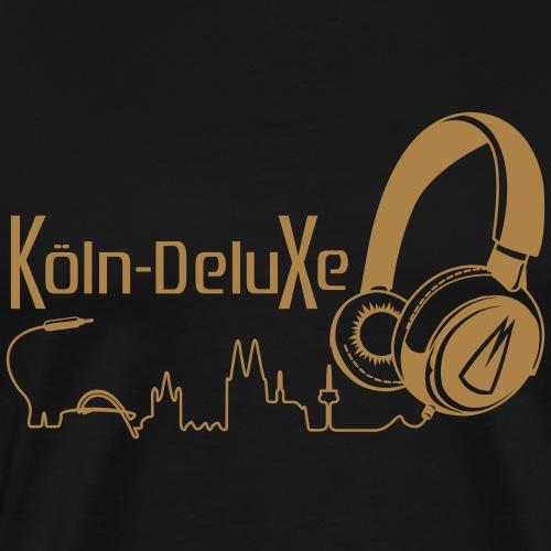 Köln Deluxe Kopfhörer Version 2 - Männer Premium T-Shirt
