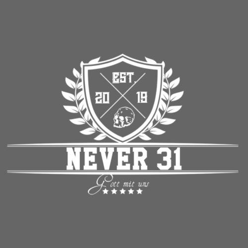 Never 31 Kranz - Männer Premium T-Shirt
