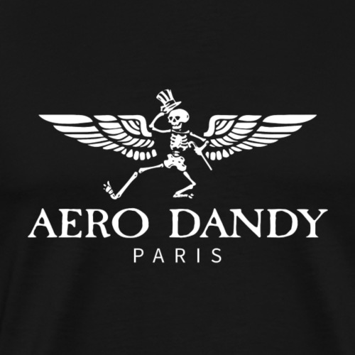 new logo white copy - T-shirt Premium Homme