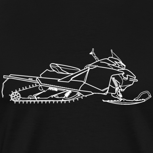 motoneige lynx boondocker - T-shirt Premium Homme