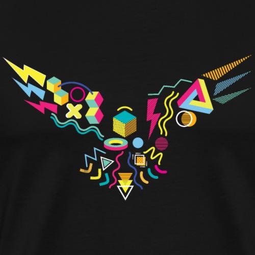 Memphis Style 80s Eagle - Men's Premium T-Shirt