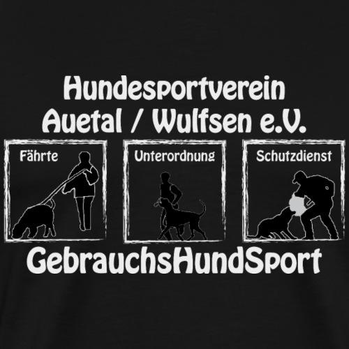 GHS HVA text gr - Männer Premium T-Shirt