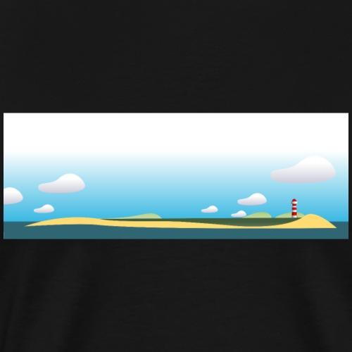 Strand und Land_4000 - Männer Premium T-Shirt