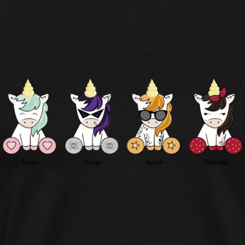 Les Licornes - T-shirt Premium Homme