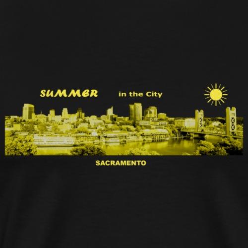 Summer City Sacramento Kalifornien - Männer Premium T-Shirt