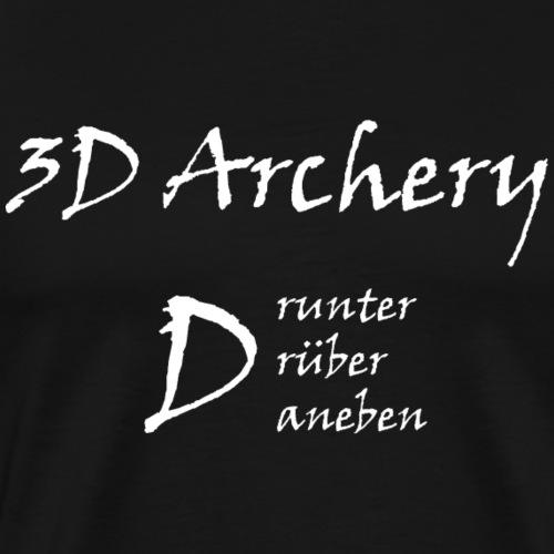3D Archery white