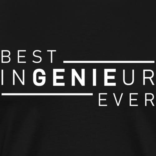 Ingenieur Genie Maschinenbau Shirt Geschenk - Männer Premium T-Shirt