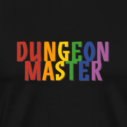 Dungeon Master Pride (Rainbow) - Men's Premium T-Shirt