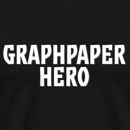 Graphpaper Hero - Men's Premium T-Shirt