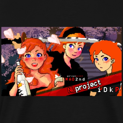 NLproject Pixel Art Original Concept - Men's Premium T-Shirt