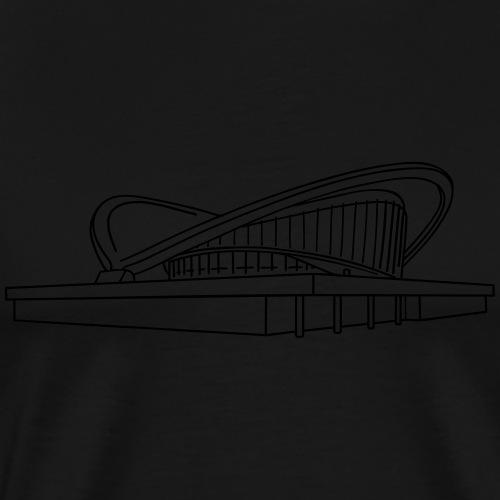 Schwangere Auster Berlin - Männer Premium T-Shirt