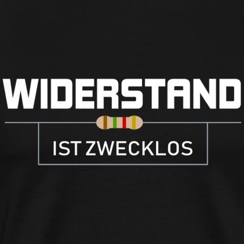 Elektriker Widerstand Elektrotechniker Geschenk - Männer Premium T-Shirt